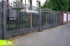 Zäune-aus-Metall-mit-Briefkasten-in-Sangerhausen