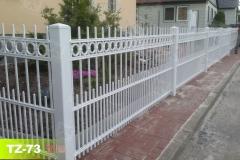 Zäune-aus-Stahl-in-weiß-beste-Qualität-in-Magdeburg