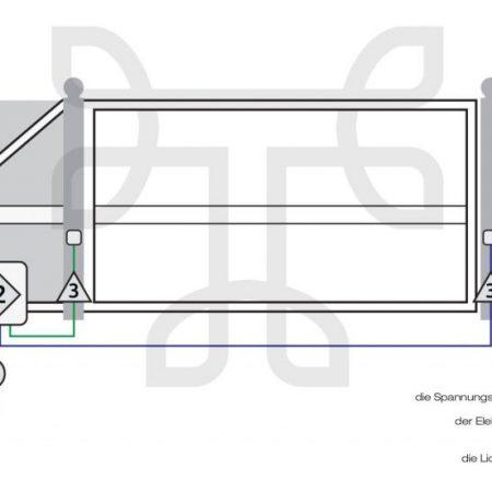 Installationsschema-eines-elektrisch-angetriebenen-Schiebetores-1024×552